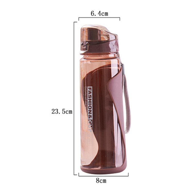 Sports Space Cup 700ML Outdoor Travel Portable Leakproof Plastic Cup Drinking Bottle Portable Cup Student Cup Factory Direct