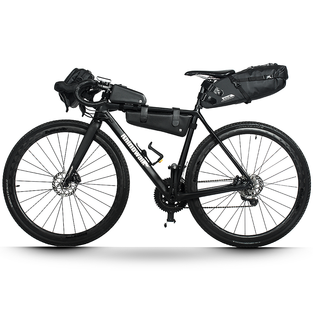Large Capacity Foldable Cycling Bike Tail Rear Bag Trunk Pannier Saddle Bag 20L
