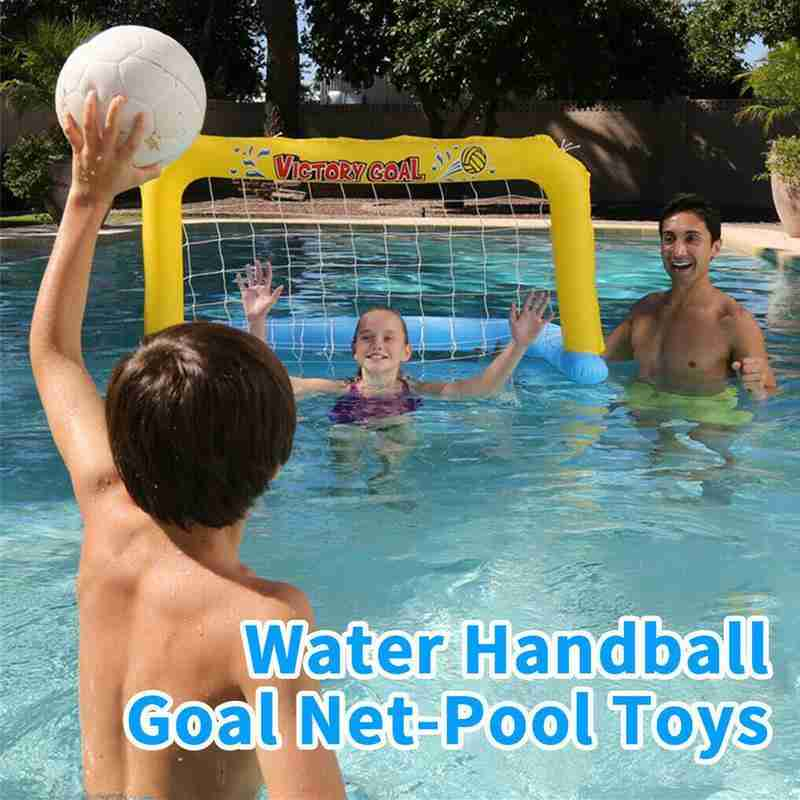 Summer Inflatable Swimming Pool Play Water Sports Toy Inflatable Volleyball Basketball Rack Handball Door Water Interactive Toys