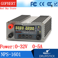Постоянный Gophert Новый NPS-1601 32V 30V 5A CPS-3205II обновленная версия мини Регулируемый цифровой источник питания постоянного тока OVP/OCP