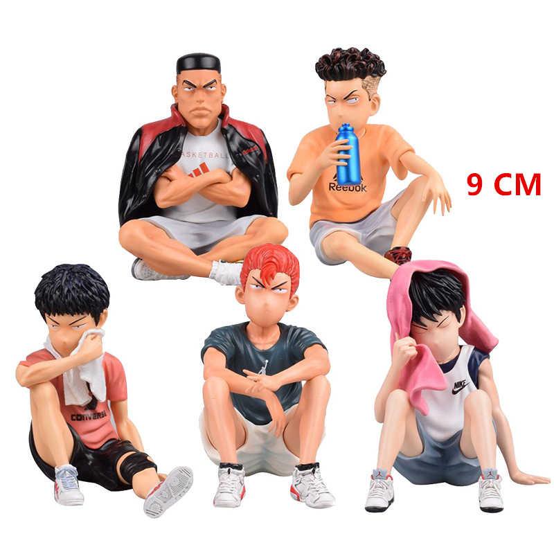 Dasin Models Slam Dump Inoue Takehiko Action Figure Collections 5pcs Kit Takenori Sakuragi Hisashi Rukawa Kaede Toys For Adults Action Toy Figures Aliexpress