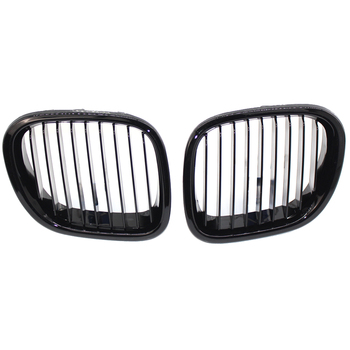 Replacement For BMW Z3 1996-2002 Car Type 1 Pair Front Grill Black Left Right Side Grille 51138412950 51138412949