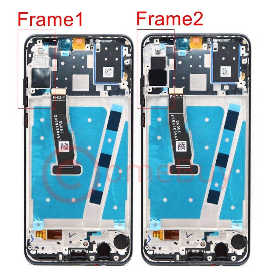 Image 2 - Original For Huawei P30 Lite LCD Display Touch Screen With Frame  P30 Lite Display For Huawei Nova 4e LCD Screen MAR LX1M MAR LX2Mobile  Phone LCD Screens