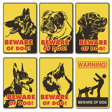 Plaque Metal Vintage Decor Sign Plate Wall Posters Retro Mural House Home Decoration for the House Notice Beware of Dog 20*30cm [ kelly66 ] pet shop warning beware of dog no pooping allowed metal sign home decor bar wall art painting 20 30 cm size dg 4