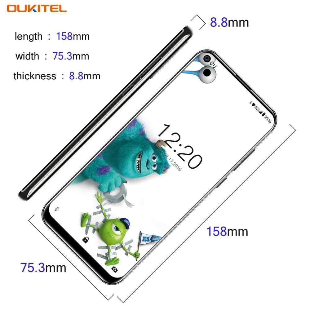 OUKITEL C17 Pro 6.35 ''19:9 RAM 4GB ROM 64GB MT6763 Điện Thoại Thông Minh 13MP Vân Tay Octa Core Android 9.0 4G Di Động 3900MAh