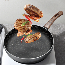 Maifan Stone Wok Non-stick Pan Household Pancake Pan Fried Egg Steak Special Frying Pan Induction Cooker Gas Stove Applicable