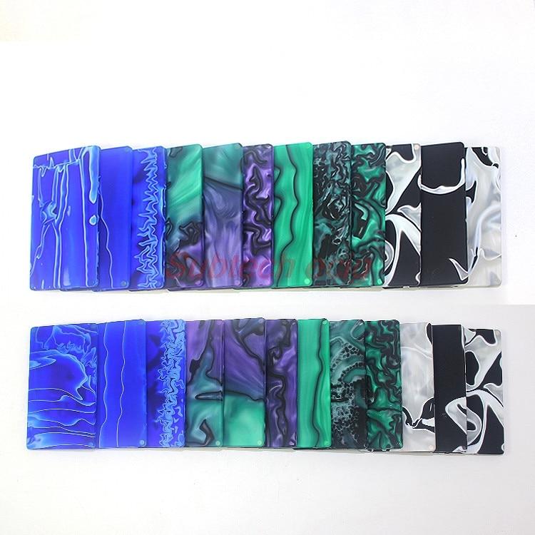 Top Vape Factory SXK Resin Panels/doors For Billet V4 B Box Mod Vapeshell Resin Panel Random Color Free Shipping