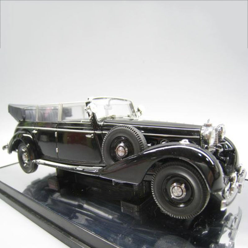 1:43 770K Retro Simulation Alloy Die Casting Convertible Collector's Edition Car Model Chief's Car Or Decoration Gift Collection