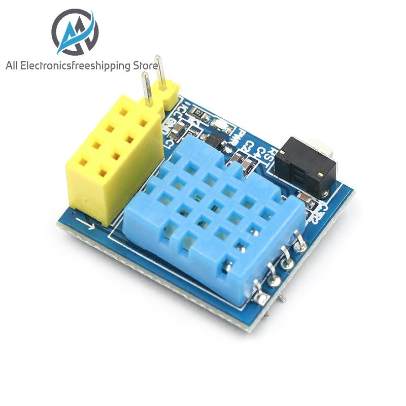 ESP8266 ESP-01 ESP-01S ESP01 DHT11 Temperature And Humidity WiFi Node Module Arduino