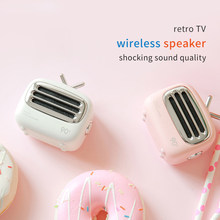 Retro Mini Bluetooth Speaker Portable Cartoon Wireless Loudspeaker Stereo Music Surround Outdoor Speaker Bass Subwoofer A2(China)