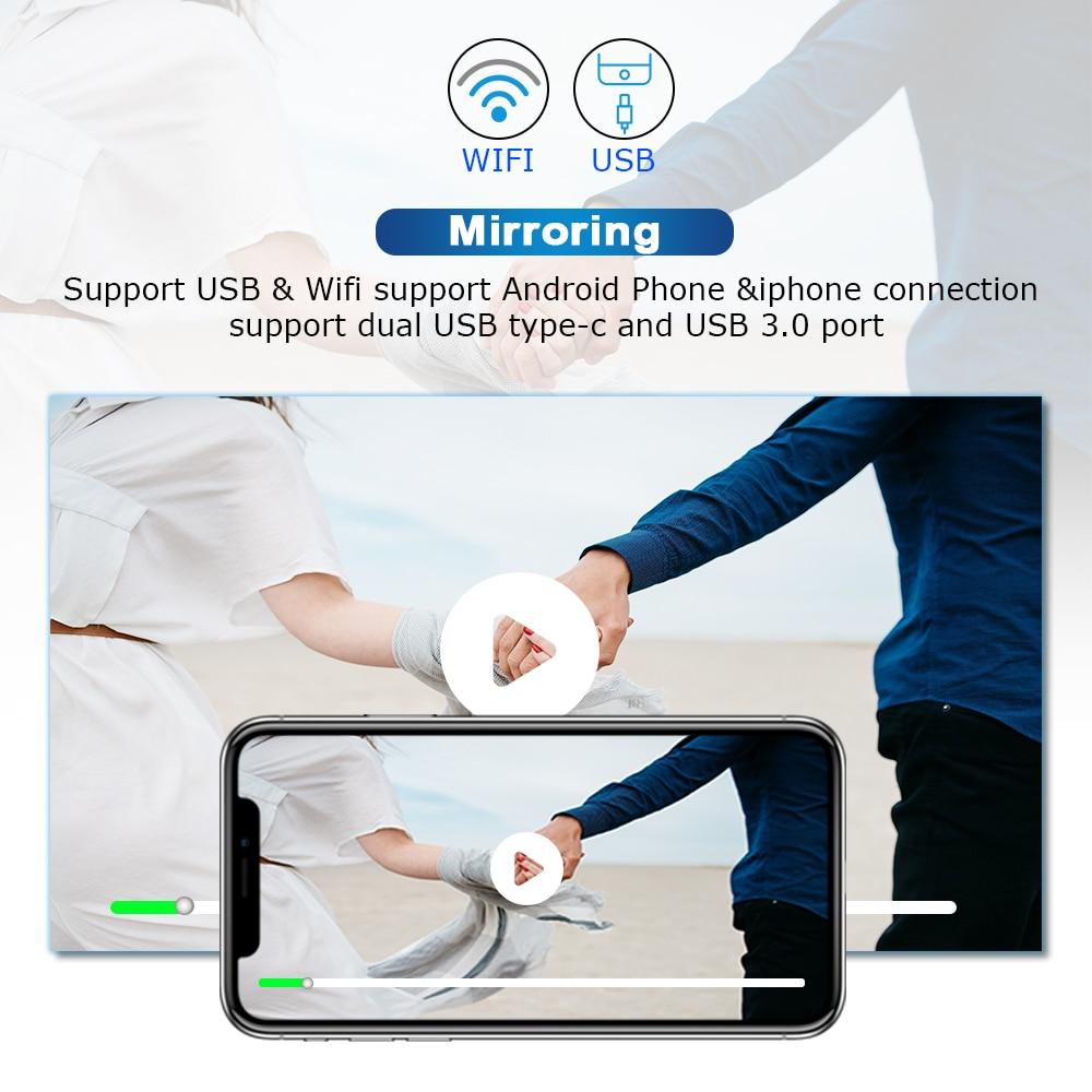 1 Din Android 10Car Radio reproductor Multimedia para BMW E46 M3 318/320/325/330/335Rover 75 Coupe unidad principal de navegación GPS DVD ESTÉREO - 5
