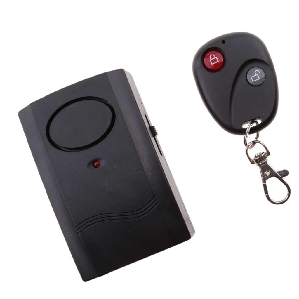 Remote Control Security Alarm Getaran Sepeda Bersepeda Antitheft Kunci Nirkabel