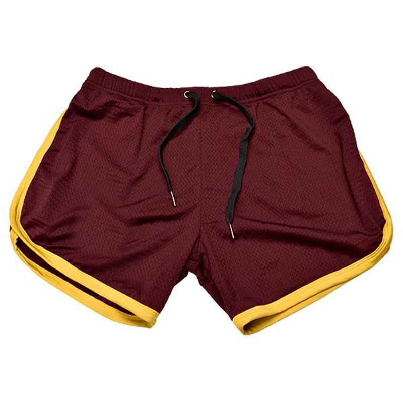 Running Shorts Men Gym Fitness Training GITF Quick Dry Beach Short Pants Male Summer Sports Workout Fitness Bottoms 9