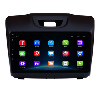 Android 10.0 Car DVD Radio GPS Navigation Multimedia for Chevrolet TrailBlazer S-10 S10 Colorado Isuzu D-Max DMAX MU-X MUX image