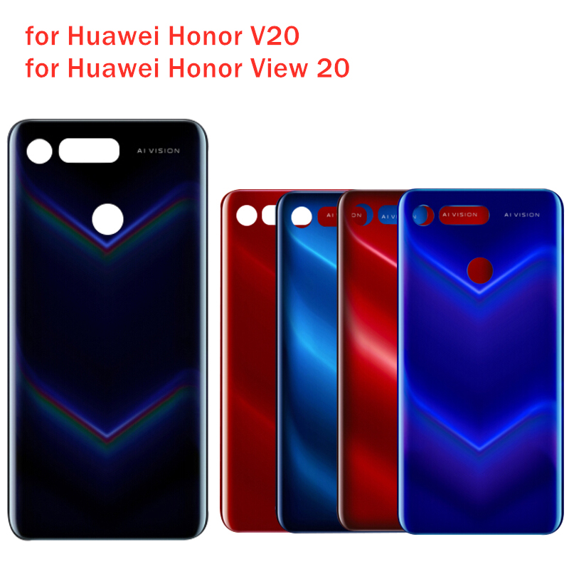 Case Rear-Door-Housing Honor Back-Cover Huawei Repair-Spare-Parts 20-Glass-Battery