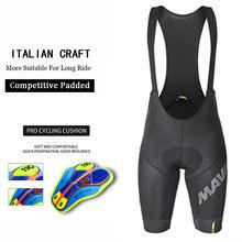 Mavic-pantalones cortos de Ciclismo Pro Team para hombre, transpirables, con almohadilla de Gel 19D, 2021