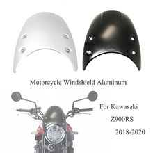 Motorcycle Windshield Wind-Deflector Kawasaki Z900rs Z-900 Aluminum
