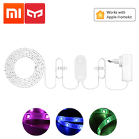 Xiaomi Yeelight Aurora Smart Light Strip Plus 2m LED RGB WiFi APP Xiaomi Home Lights Work with Alexa Google Assistant Homekit