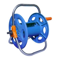 Household Garden Water Hose Reel Cart Portable Storage Hose Rack Convenient and Practical Watering Tool Watering Kits     -
