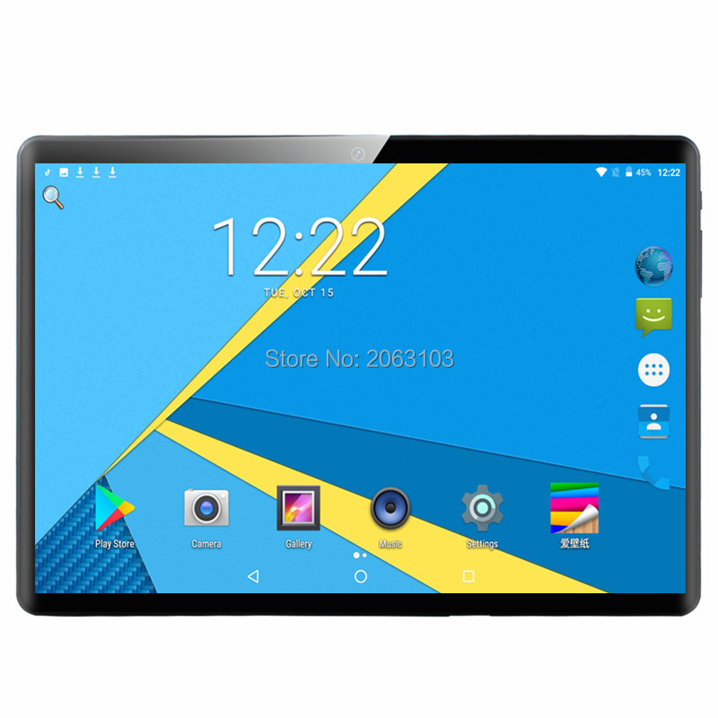 10 Inch Tablet Android 9.0 Deca Core 6GB RAM 128GB ROM 3G 4G LTE Wifi Bluetooth GPS Phone Call Glass Screen Tablet Pc 10.1
