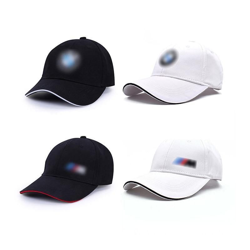 Cotton Baseball Cap For BMW E46 E90 E60 E39 F30 E36 F10 E87 F20 E30 X5 E70 E91 E92 E53 G30 Summer Peaked Hat Auto Accessories