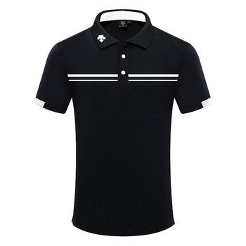 Mężczyźni sportowe z krótkim rękawem t-shirt do golfa 4 kolory odzież golfowa S-XXL w wyborze Sport rozrywka koszulka golfowa tanie i dobre opinie HQBWill COTTON SILK Poliester Mikrofibra spandex Anty-pilling Anti-shrink Przeciwzmarszczkowy Oddychające Szybkie suche