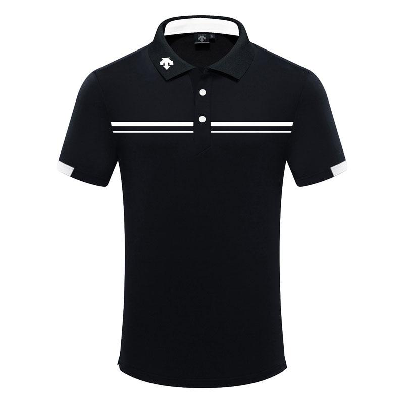 Men Short Sleeve Sport Golf T-shirt 4 Colors Golf Clothes S-XXL In Choice Sport Leisure Golf Shirt