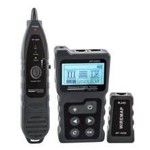 NOYAFA – Testeur de câble réseau de téléphone, outils pour fils RJ45, modèle NF-8209 et NF-488, LAN, Cat5, Cat6, écran LCD, mesure de longueur, PoE
