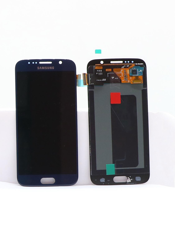 100% ORIGINAL Super AMOLED S7LCD avec cadre pour SAMSUNG Galaxy S7 G930 G930F écran tactile écran tactile numériseur remplacer - 2