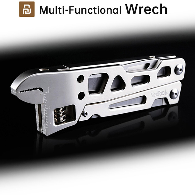 Youpin Multi Functional Wrench Equal A Tool Box Screw Driver Pliers Sawing Cutting Exquisite Design Easy Operate