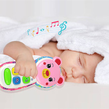 Cartoon Animal Shapes Baby Phone with Music and Light Cell P