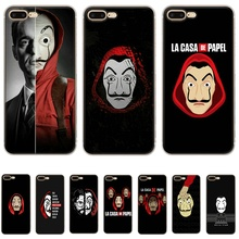 Mobile Phone Case For Iphone X XS Max XR 6 6S 7 8 Plus 5 5S SE Hard Cover TV Series Money Heist House Of Paper Shell