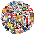 10/30/50 шт классный брендовый логотип наклейки Водонепроницаемый скейтборд автомобиля гитара мотоцикл с Отделом дя багажа в стиле «граффити»...