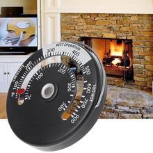 1 шт., термометр для камина, дровяного бревна, горящая Печная труба, огнеупорный нагреватель, алюминиевый сплав, высокое качество, адсорбция, широко используемая Новинка