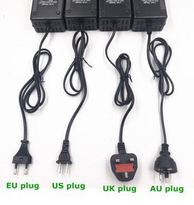 Image 5 - 36 В 3 А Выход зарядного устройства 42 в 3 А Вход зарядного устройства 100 240 В переменного тока литий ионный литий поли зарядное устройство для 10 серии 36 В электровелосипеда