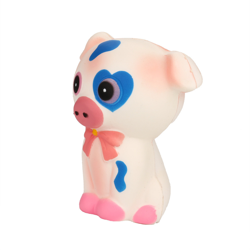 Slow Rising Squeeze Toy Simulation Cartoon Pig Toy For Children Birthday Gift Toy Soft Vent Decompression Toy #A