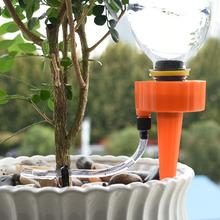 Automatyczny kwiat garnek narzędzie do podlewania domu doniczkowe rośliny nawadniania kropelkowego System dla Houseplant balkon doniczkowe rośliny wody 1 sztuk tanie tanio WZCWJNLGM CN (pochodzenie) 21mm 25MM Z tworzywa sztucznego Podlewanie zestawy drip irrigation system Hard bottle random