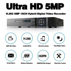 Image 2 - 16 canali AHD DVR 5MP DVR 16CH AHD AHD 5MP NVR Supporto 2560*1920P 5.0MP Telecamera A CIRCUITO CHIUSO di Video registratore DVR NVR HVR Sistema di Sicurezza