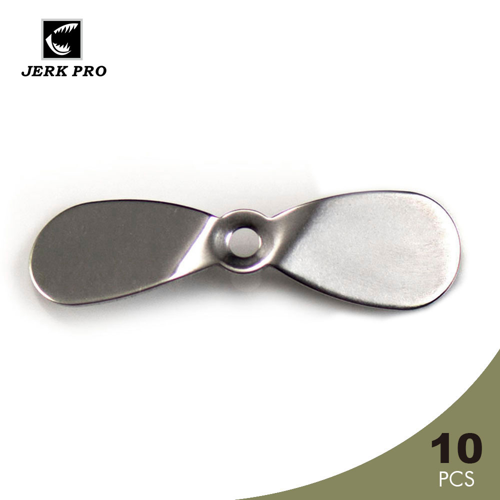 JERK PRO 10PCS Large Topwater Propeller Blades Prop Spin Custom Surface Wooden Fishing Lures Angler's Tackle Craft Lure Parts