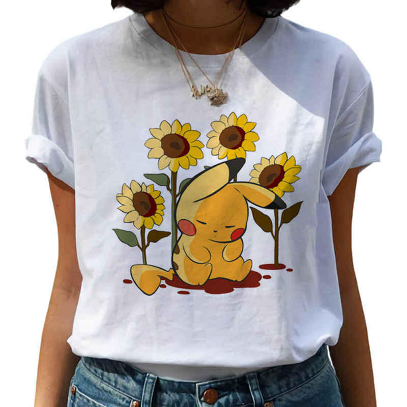 new-font-b-pokemon-b-font-go-harajuku-kawaii-t-shirt-women-ullzang-pikachu-funny-cartoon-t-shirt-90s-cute-tshirt-korean-style-top-tees-female