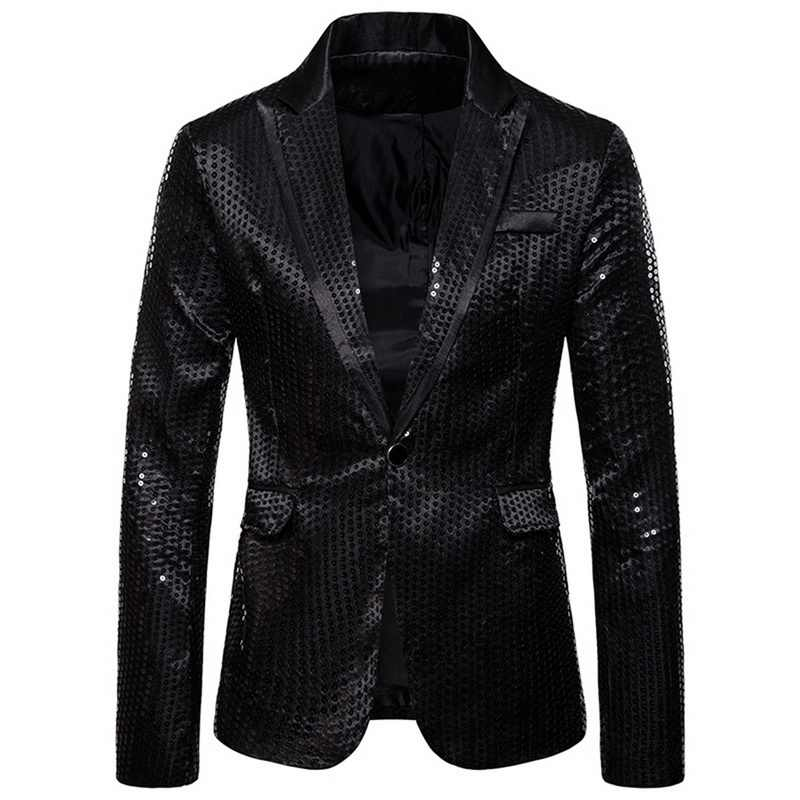 CYSINCOS Merk Mannen dubbelzijdig Kleurrijke Plaid Rood Goud Zilver Zwart Pailletten Blazers Ontwerp DJ Jasje Mode Outfit