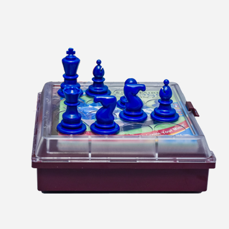 America ThinkFun Single Person Chess Set Solitaire Chess Students Thinking Educational Toy 8-Year-Old +