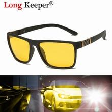 Goggles Sunglasses Drivers Night-Vision Polarized UV400 Brand At Men Longkeeper Square