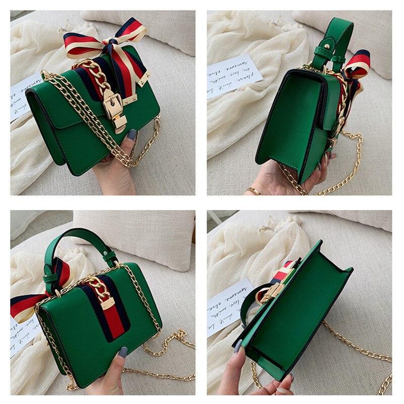 Small Square Bag Women 2020 Fashion Handbags Small flap Chain Shoulder Bag Trend Women Shoulder Bag Single Shoulder Bag Handbag
