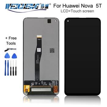 "6.26in"" For Huawei Nova  5T  LCD Touch Screen Digitizer YAL-L41 YAL-AL10 For Huawei Nova  5T LCD Screen"