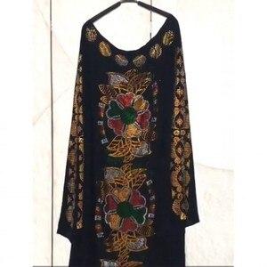 Image 5 - Afrikaanse Jurken Voor Vrouwen 2019 Herfst Dashiki Diamanten Afrikaanse Kleding Bazin Broder Riche Sexy Slim Robe Avond Lange Jurk