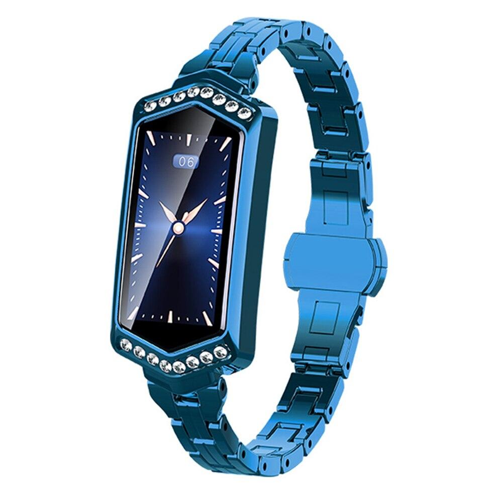 Woman Smart Watch Waterproof Tracker Rechargeable Bracelet Gift Bluetooth Sports Fitness Blood Pressure Luxury Fashion