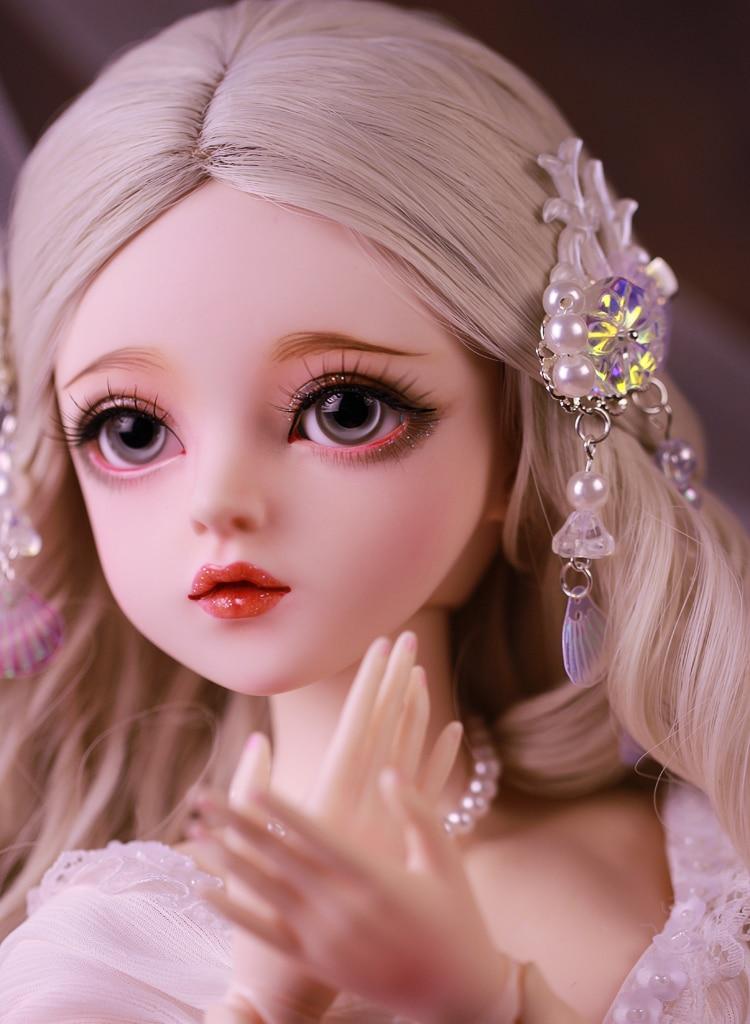 Шарнирная кукла, подарок для девочки, полный комплект куклы с одеждой и изменяющими глаза, кукла «сделай сам», лучший подарок на день Святого Валентина, кукла неме ручной работы, 1/3 4