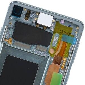 Image 3 - 3040x1440 Original 6.1 S10 LCD Für SAMSUNG Galaxy S10 G973F/DS G973U G973 SM G973 Display Touch screen Digitizer Ersatz