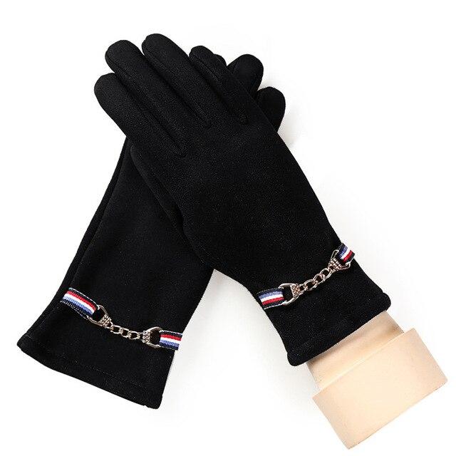Suede Velvet Gloves Gloves...